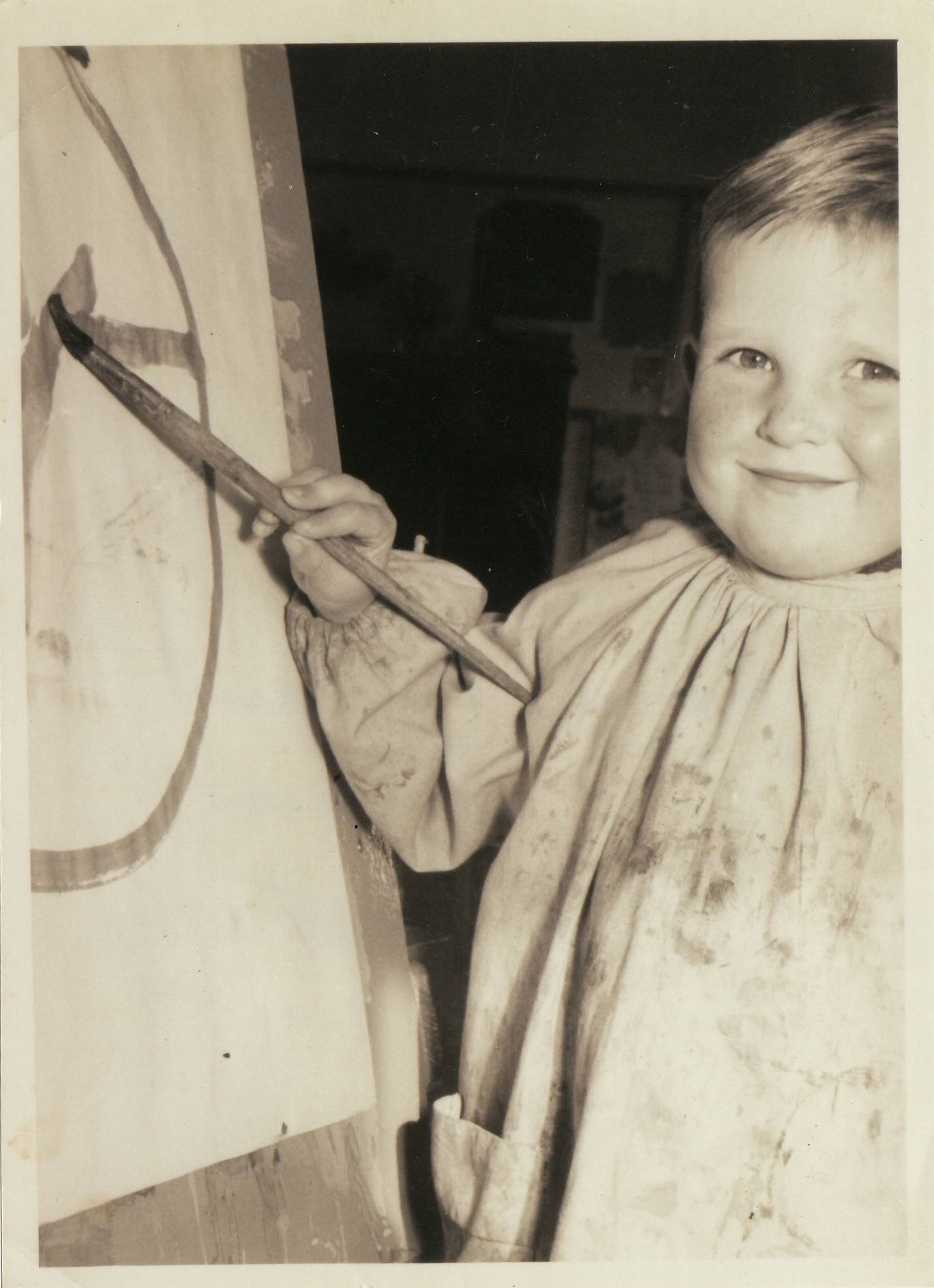 the artist as a young man:2
